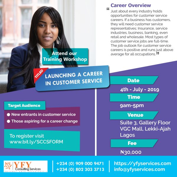 Customer Service Flyer